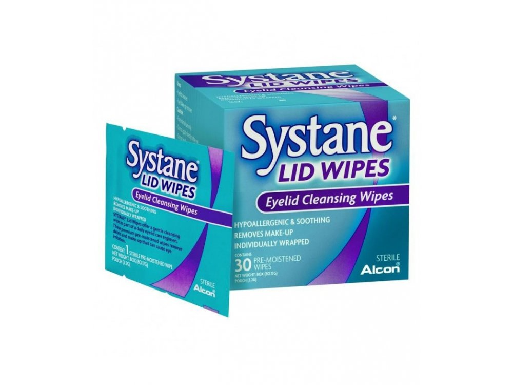 SYSTANE LID WIPES 30ΤΕΜ
