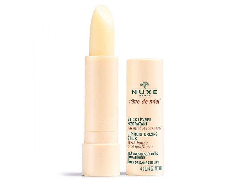 Nuxe Reve de Miel Stick Levres Lip Moisturizing Stick, Ενυδατικό Στικ Χειλιών με Μέλι, 4.4gr