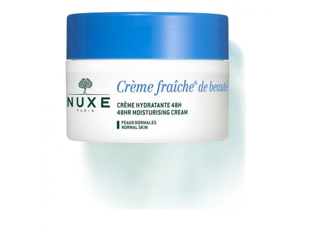 Nuxe Creme Fraiche de Beaute Hydratante 48h, Κρέμα 48ωρης Eνυδάτωσης 50ml