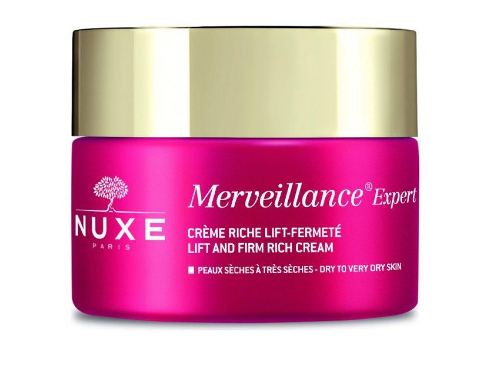 Nuxe Merveillance Expert Creme, Κρέμα Lifting Και Σύσφιξης Πλούσιας Υφής για Ξηρές Επιδερμίδες, 50ml