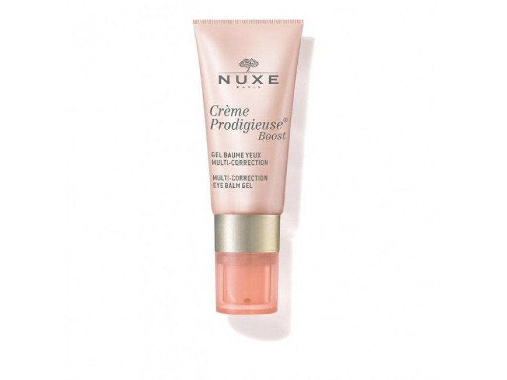 Nuxe Creme Prodigieuse Boost Multi-Correction Eye Balm Gel Πολλαπλής Δράσης για την Περιοχή των Ματιών 15ml
