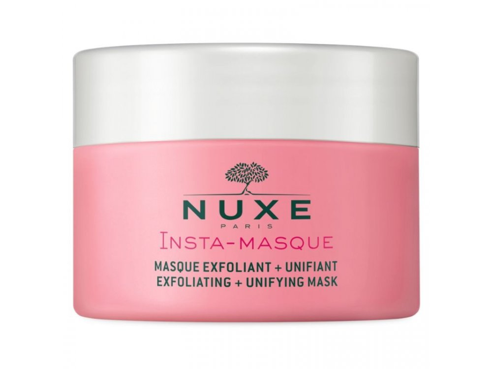 Nuxe Insta-Masque Exfoliating Unifying Mask with Rose and Macadamia Για Απολέπιση & Ομοιόμορφη Όψη 50ml