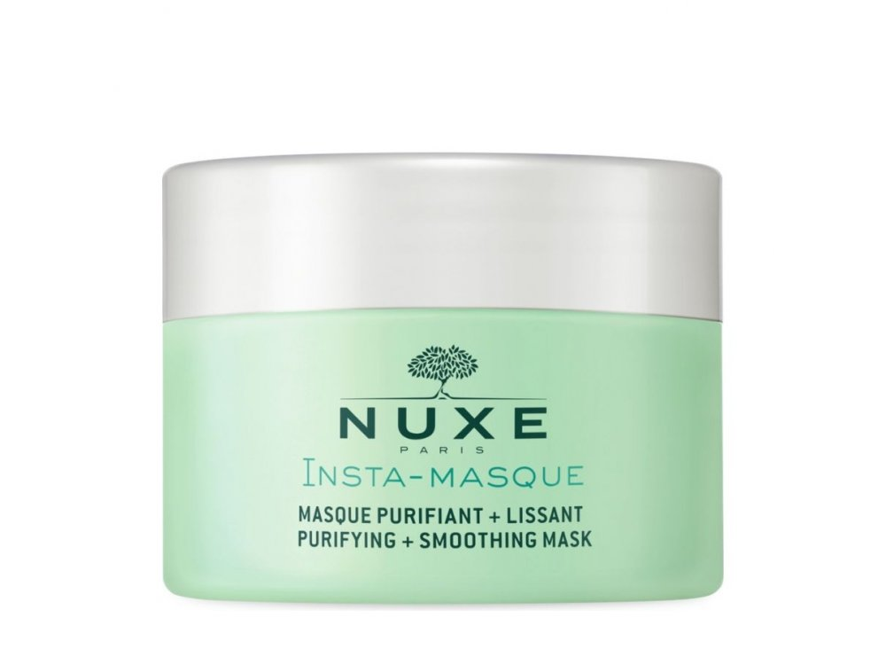 Nuxe Insta-Masque Purifying Smoothing Mask with Rose and Clay Καθαριστική & Λειαντική Μάσκα 50ml