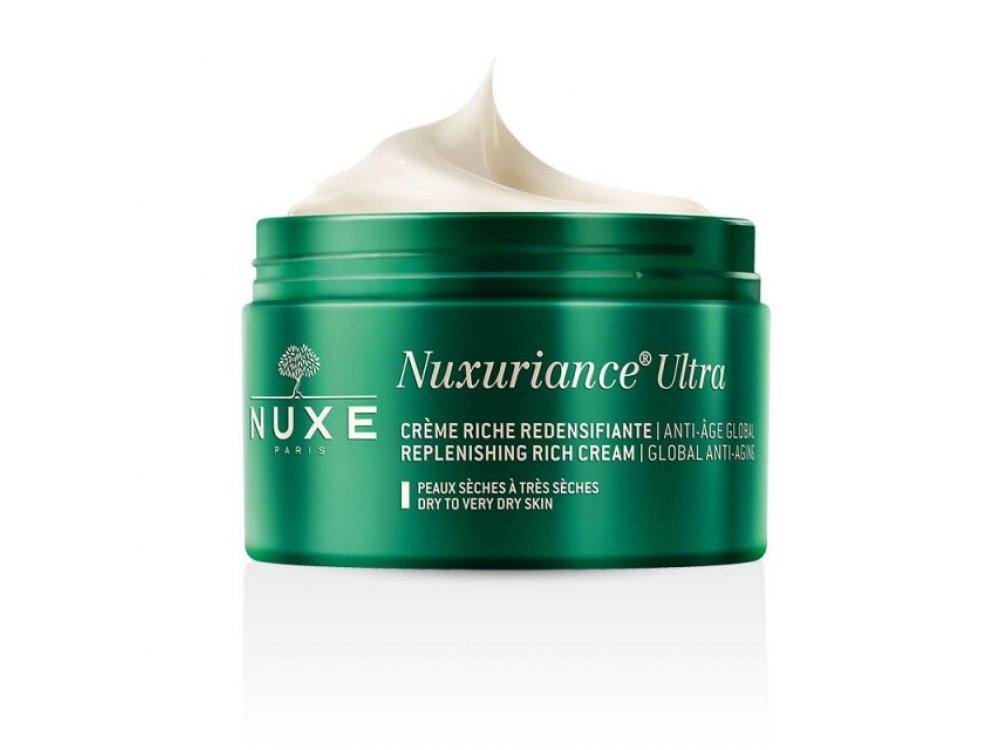 Nuxe Nuxuriance Ultra Creme Riche, Κρέμα Ημέρας Ολικής Αντιγήρανσης Πλούσιας Υφής για Ξηρές-Πολύ Ξηρές 50ml