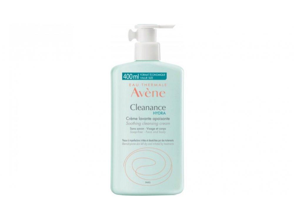 AVENE CLEANANCE HYDRA CREME LAVANTE 400 ml