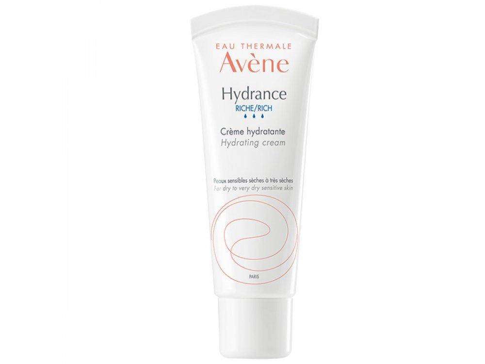 Avene Eau Thermale Hydrance Rich, Ενυδατική Κρέμα Προσώπου Πλούσιας Υφής, 40ml