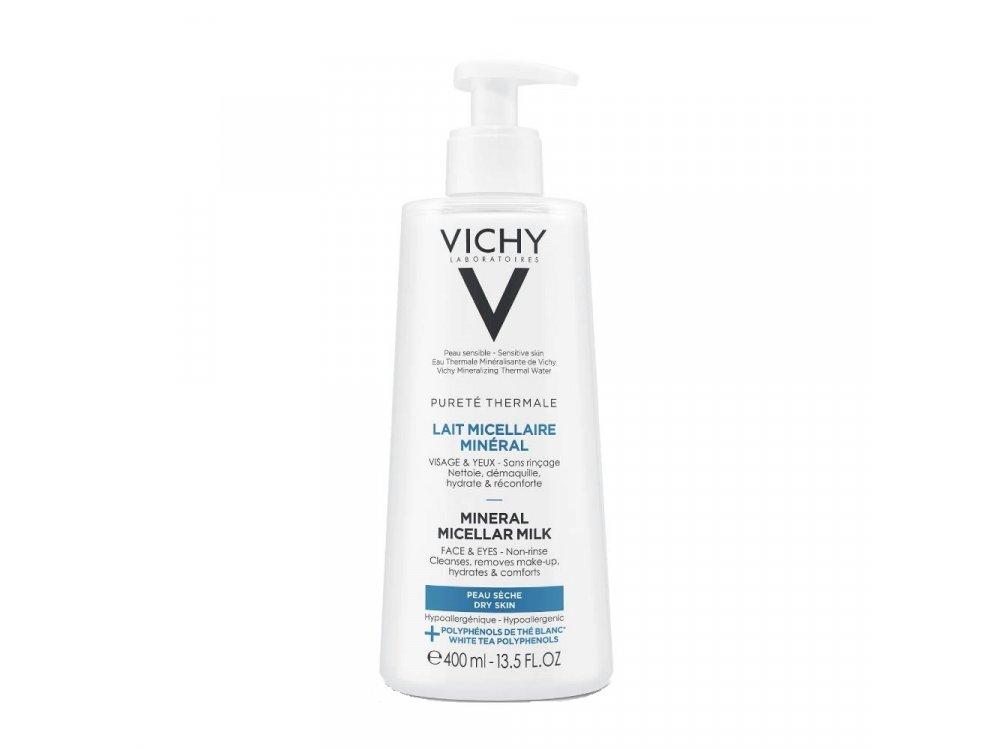 Vichy Purete Thermale Lait Micellaire Mineral ξηρή
