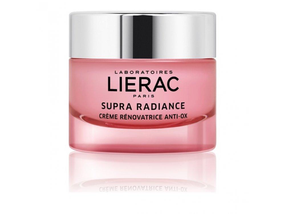 Lierac Supra Radiance Anti-ox Renewing Cream, Κρέμα Ανανέωσης Κανονικές/Ξηρές Επιδερμίδες 50ml