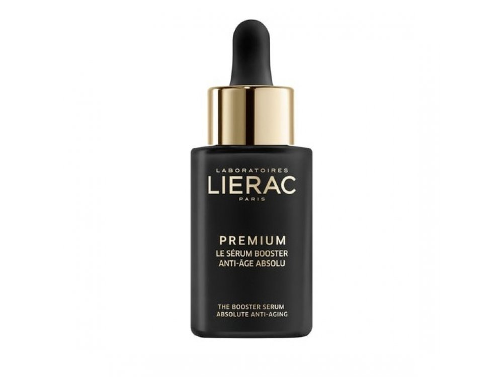 Lierac Premium The Booster Serum Αντιγηραντικός & Αναζωογονητικός Ορός Προσώπου Απόλυτης Αντιγήρανσης, 30ml