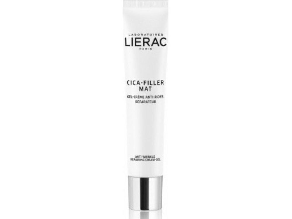 Lierac Cica-Filler Mat Anti-Wrinkle Cream-Gel 40ml