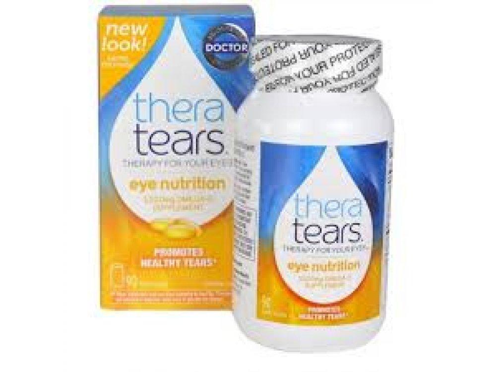 Thera Tears Nutrition Dry Eyes Comfort 90caps - Ωμέγα 3 & Βιταμίνη Ε Για Την Ξηροφθαλμία