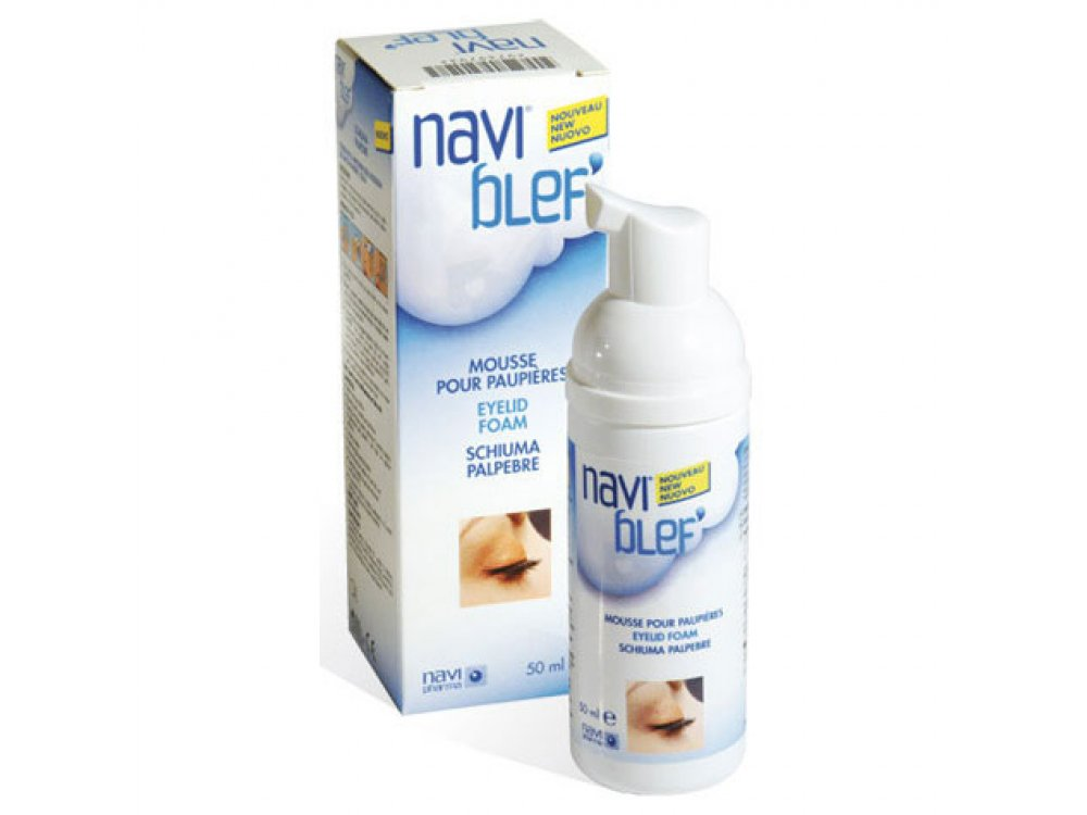NOVAX PHARMA NAVIBLEF DAILY CARE ΑΦΡΟΣ ΒΛΕΦΑΡΩΝ 50ML