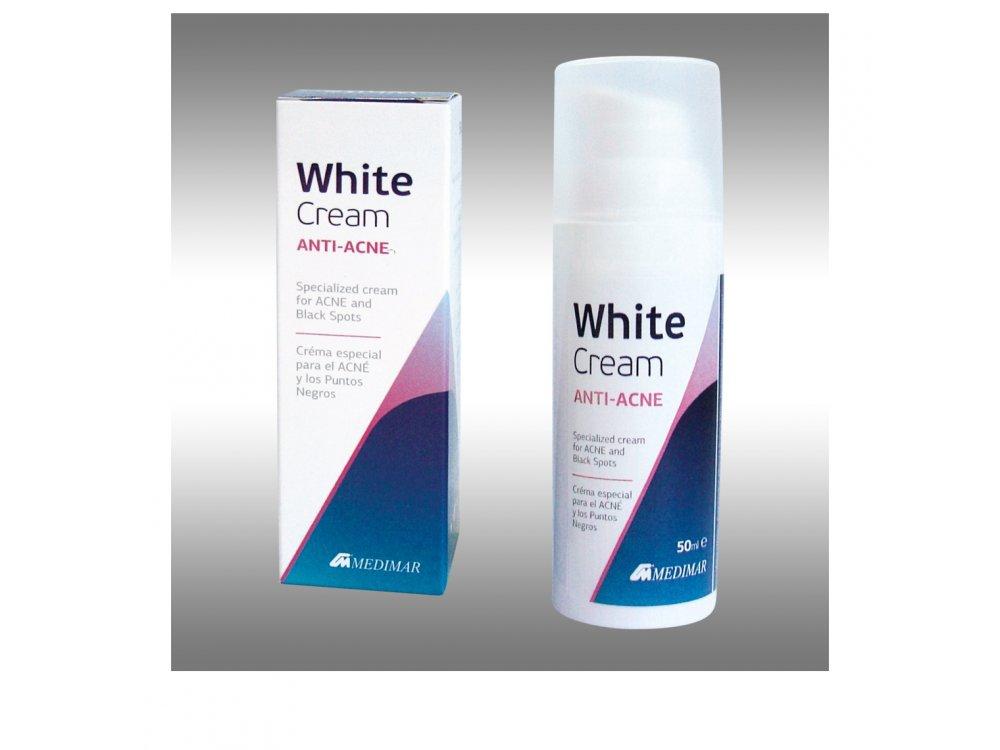 Medimar White Cream Anti-Acne 50ml