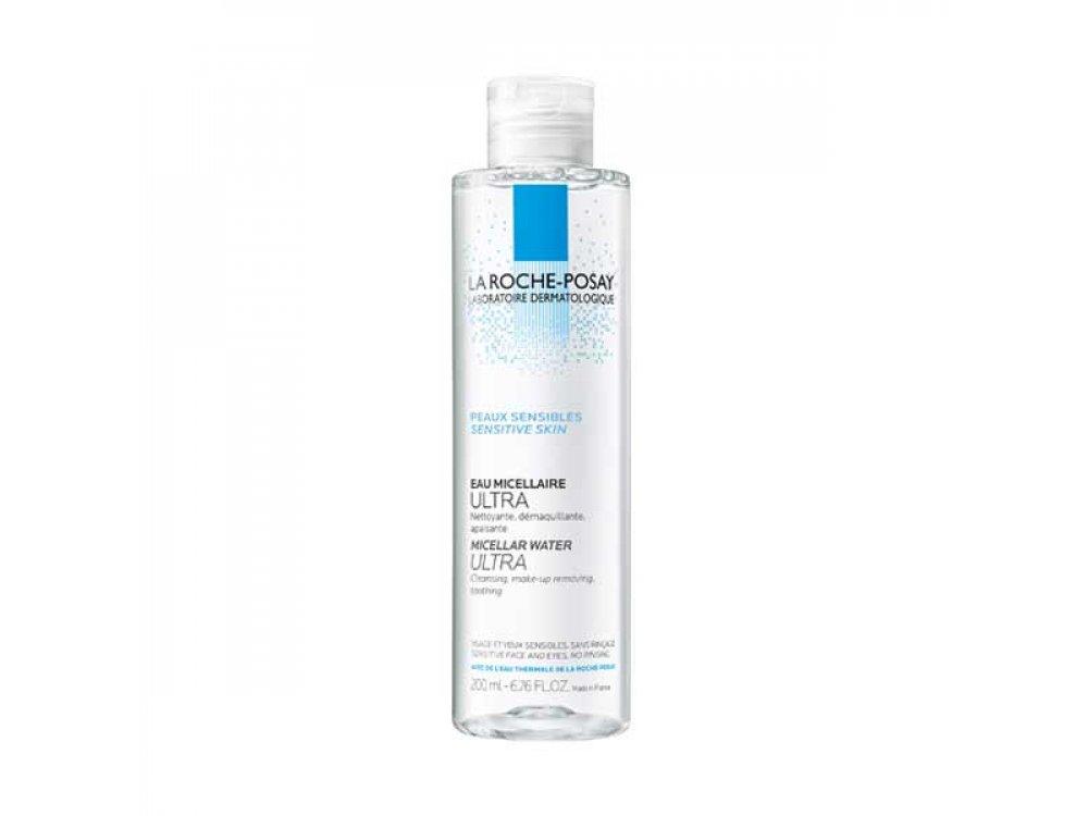 La Roche-Posay Micellar Water Ultra Νερό Καθαρισμού/Ντεμακιγιάζ Προσώπου/Ματιών Για Ευαίσθητο Δέρμα 200ml -20%