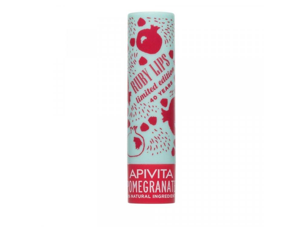 Apivita Limited Edition Lip Care ΡΟΔΙ 4.4gr