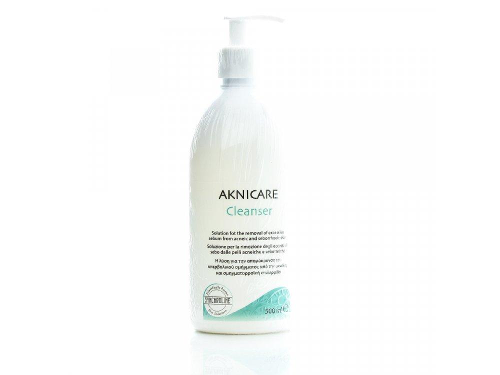 Synchroline Aknicare Cleanser Καθαριστικό Προσώπου για Ακνεϊκή & Σμηγματορροϊκή Επιδερμίδα 500ml