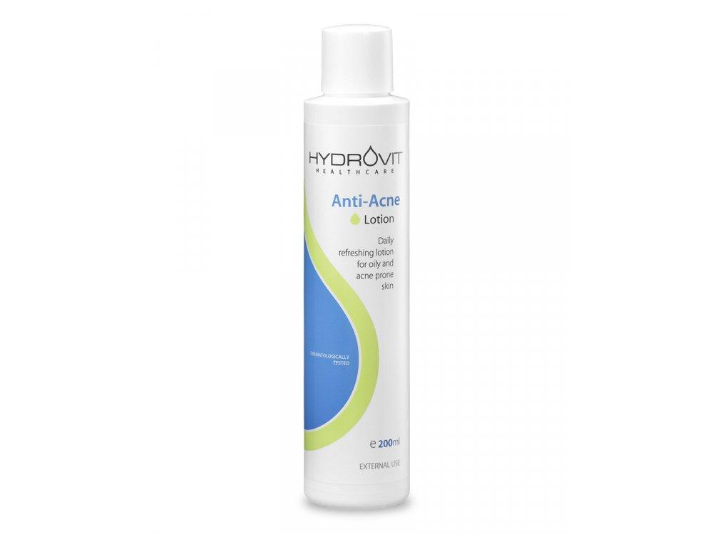 Hydrovit Anti-Acne Lotion, Λοσιόν Καθαρισμού για Λιπαρά Δέρματα με Ακμή, 200ml