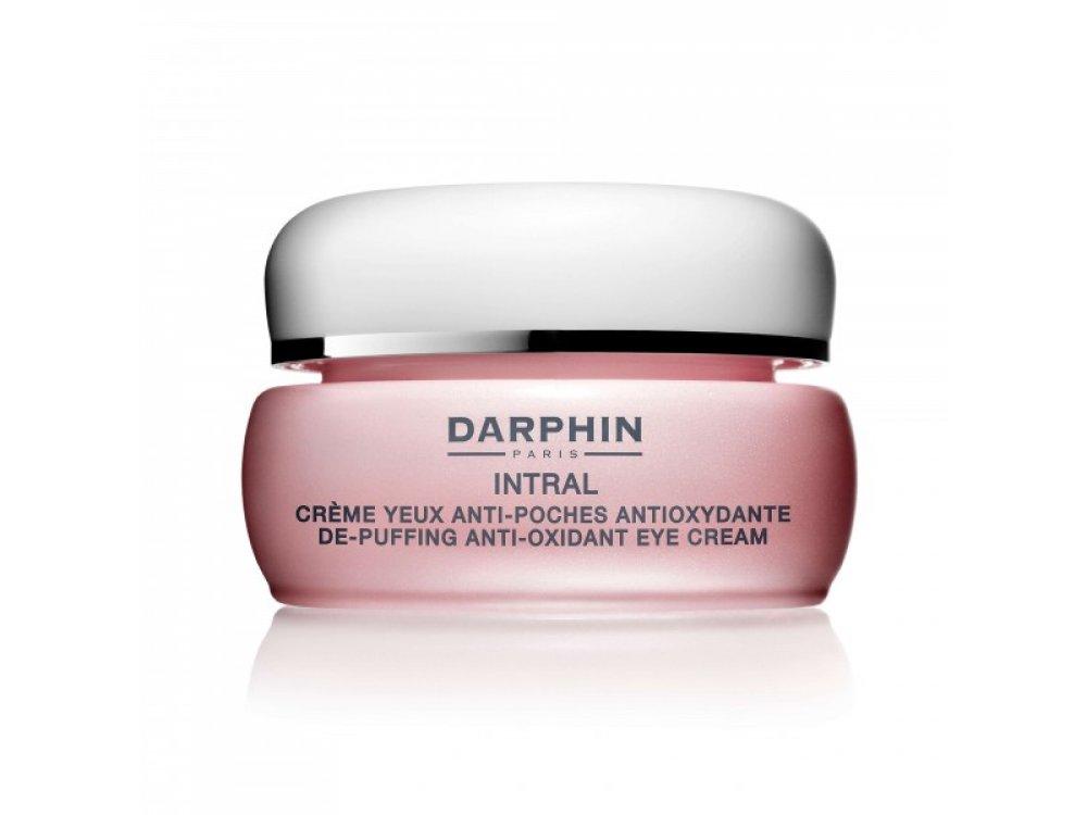 Darphin Intral De-Puffing Ati-Oxidant Eye Cream , Αντιοξειδωτική Κρέμα Ματιών Σακούλες & Μαύρους Κύκλους 15ml