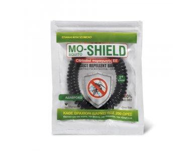 Mo-Shield Band Black 1pc (Αντικουνουπικό Βραχιόλι 1τεμ Μαύρο)