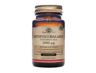 Solgar Methylcobalamin Vitamin B12 1000μcg 30υπογλώσσιες ταμπλέτες