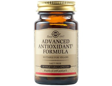 SOLGAR ADVANCED ANTIOXIDANT FORMULA 30 VEG CAPS