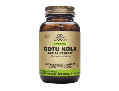 Solgar Standardised Gotu Kola Aerial Extract 100 φυτικές κάψουλες