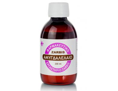 Zarbis Camoil Johnz, Almond Oil, Αμυγδαλέλαιο, 200ml
