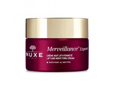 Nuxe Merveillance Creme Nuit, Κρέμα Νυκτός για τις Ορατές Ρυτίδες, 50ml