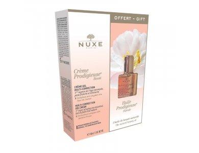 Nuxe Πακέτο Προσφοράς Prodigieuse με Boost Multi-Correction Gel-Cream, 40ml & Huile Florale Ξηρό Λάδι, 10ml