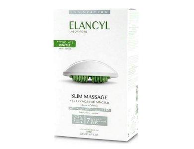 Elancyl Slim Massage & Gant Τζελ για Μασάζ κατά της Κυτταρίτιδας, 200ml & Γάντι Αδυνατίσματος, 1 τμχ