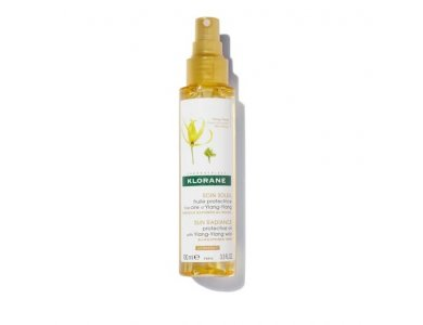 Klorane SoinSoleil Sun Radiance Protective Oil Ylang-Ylang, Προστατευτικό Έλαιο Μαλλιών για τον Ήλιο, 100ml