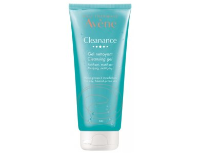 Avene Cleanance Cleansing Gel, Για Απαλό Καθαρισμό & Μείωση της Παραγωγής Σμήγματος, 200ml