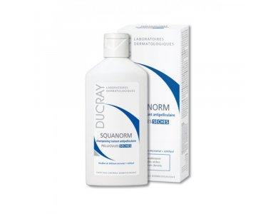 Ducray Shampooing Squanorm 200ml, Σαμπουάν Κατά της Ξηρής Πιτυρίδας