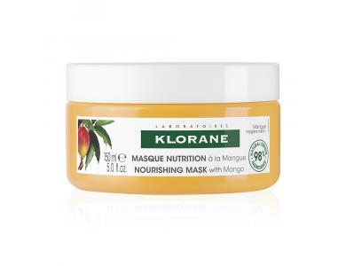 Klorane Masque Nutrition, Επανορθωτική Μάσκα Θρέψης με Μάνγκο, 150ml