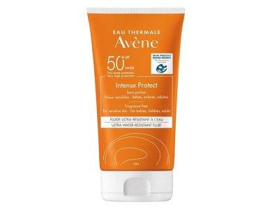 Avene Intense Protect, Αντηλιακό για Ευαίσθητο Δέρμα για Πρόσωπο & Σώμα Χωρίς Άρωμα SPF50+, 150ml