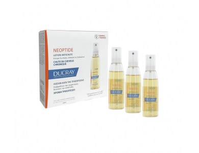 Ducray Neoptide Women Lotion Λοσιόν Αγωγής κατά της Προοδευτικής Γυναικείας Τριχόπτωσης, 3x30ml