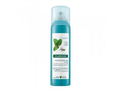 KLORANE Dry Shampoo με Υδάτινη Μέντα για Κάθε Τύπο Μαλλιών 150ml