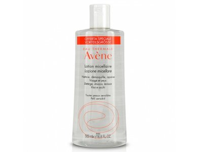 Avene Lotion Micellaire Καθαριστική Λοσιόν Για Μη Ανεκτικό Δέρμα, 500ml