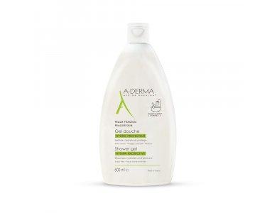 A-derma Shower Gel Hydra-Protective Family, Αφρόλουτρο για Ευαίσθητες Επιδερμίδες, -15%, 500ml