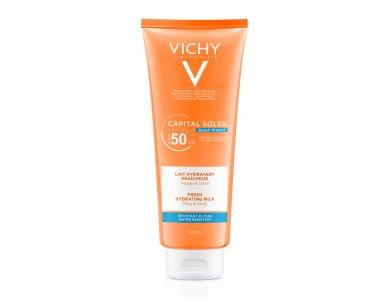 Vichy Capital Soleil Αντηλιακό Γαλάκτωμα για Πρόσωπο & Σώμα SPF 50, 300ml