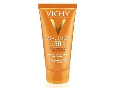 Vichy Ideal Soleil SPF50, Ματ Αποτέλεσμα, Μικτές-Λιπαρές Επιδερμίδες