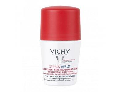 VICHY Deodorant Stress Resist Roll-on Εντατική Αποσμητική Φροντίδα 72h 50ml