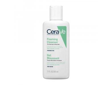 CeraVe Gel Καθαρισμού Πρόσωπο/Σώμα για Κανονικό έως Λιπαρό Δέρμα 88ml