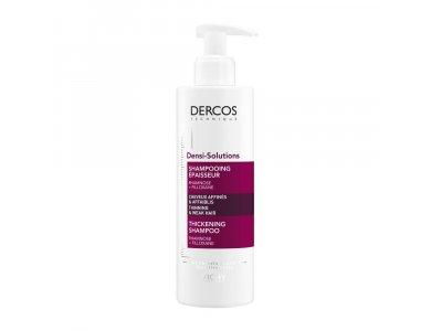 Vichy Dercos Densi-Solutions Shampoo, Σαμπουάν Αύξησης της Πυκνότητας 400ml