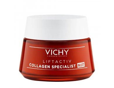 VICHY Liftactiv Collagen Specialist Νύχτας, 50ml