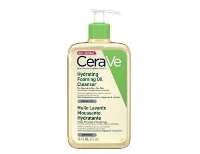 CeraVe Hydrating Foaming Cleansing Oil, Λάδι Καθαρισμού για Κανονικό έως Ξηρό Δέρμα, 473ml