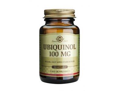 SOLGAR UBIQUINOL 100MG SOFTGELS 50S