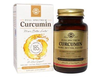 SOLGAR CURCUMIN FULL SPECTRUM SOFTGELS 30S