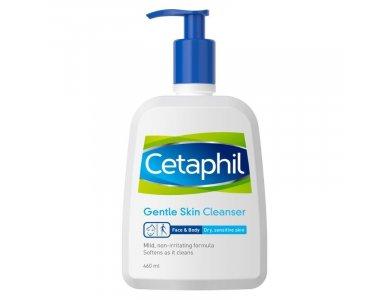 Cetaphil Cleanser Lotion Απαλή Καθαριστική Λοσιόν για το Πρόσωπο και το Σώμα 460ml