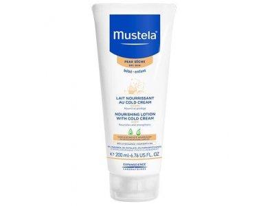 Mustela Bebe Lait Nourrissant au Cold Cream 200ml